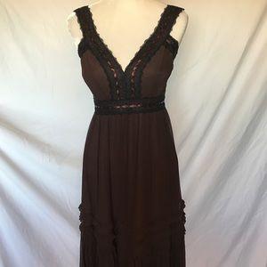 BCBGMaxazria Mahogany Bubble Dress Size 10 NWT